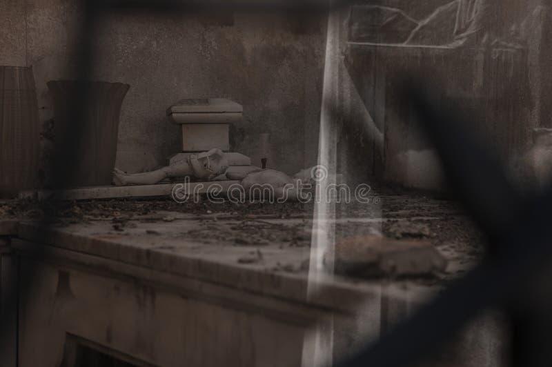 Κοιμητήριο της La Recoleta. Μπουένος Άιρες, Αργεντινή - Ιανουάριος 282019. Κοιμη στοκ φωτογραφία με δικαίωμα ελεύθερης χρήσης