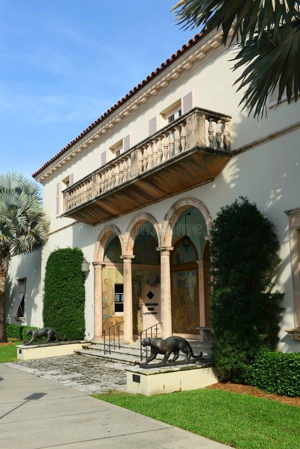 Κοινωνία των τεσσάρων τεχνών, Palm Beach, Φλώριδα στοκ εικόνες