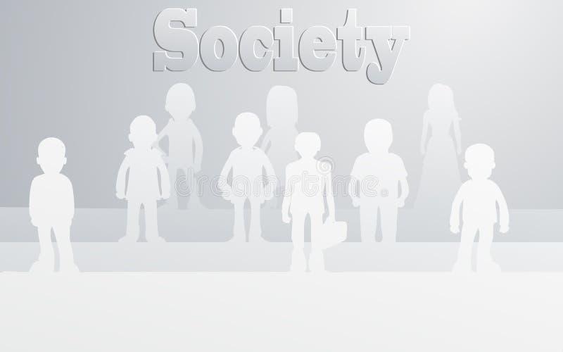 Κοινωνία Στοκ Φωτογραφία