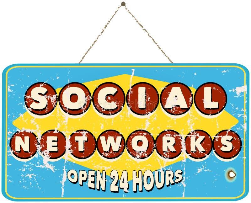 Κοινωνικά δίκτυα ελεύθερη απεικόνιση δικαιώματος