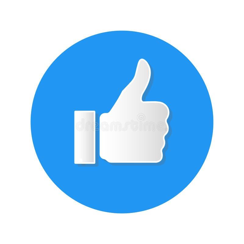Κοινωνικά μέσα όπως το εικονίδιο στο άσπρο υπόβαθρο απεικόνιση αποθεμάτων