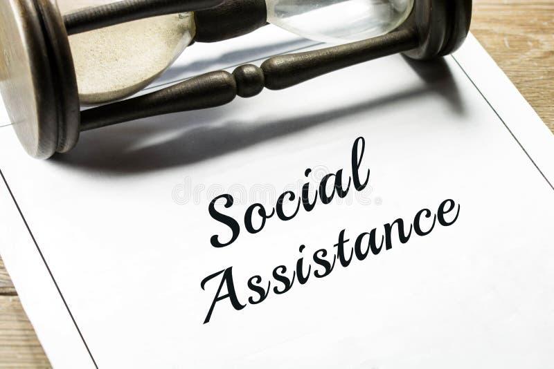 Κοινωνική βοήθεια στοκ εικόνα