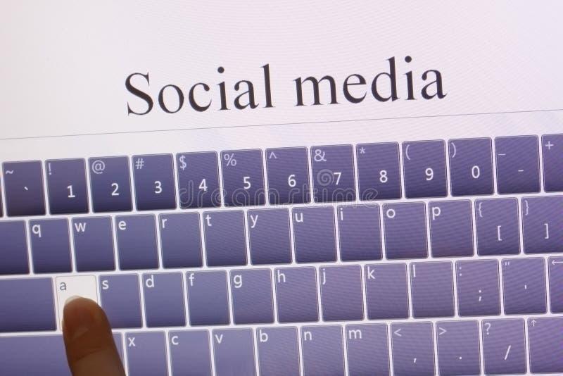 κοινωνική ταμπλέτα μέσων στοκ φωτογραφία με δικαίωμα ελεύθερης χρήσης