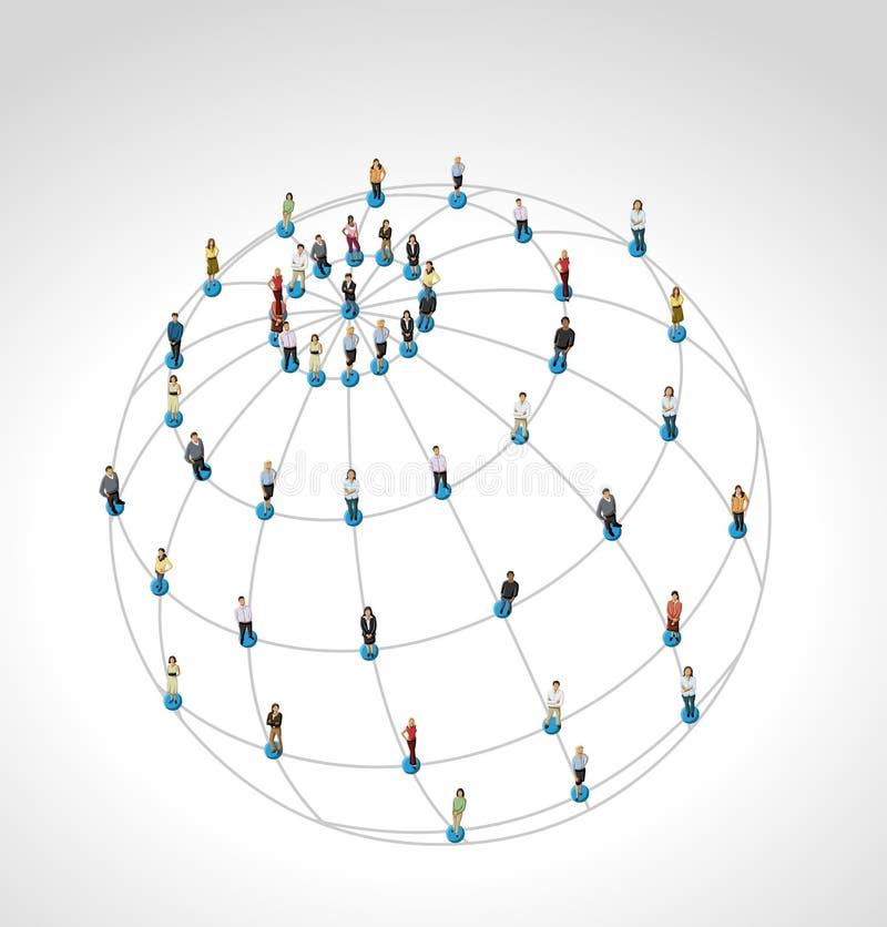 Κοινωνικό δίκτυο. ελεύθερη απεικόνιση δικαιώματος