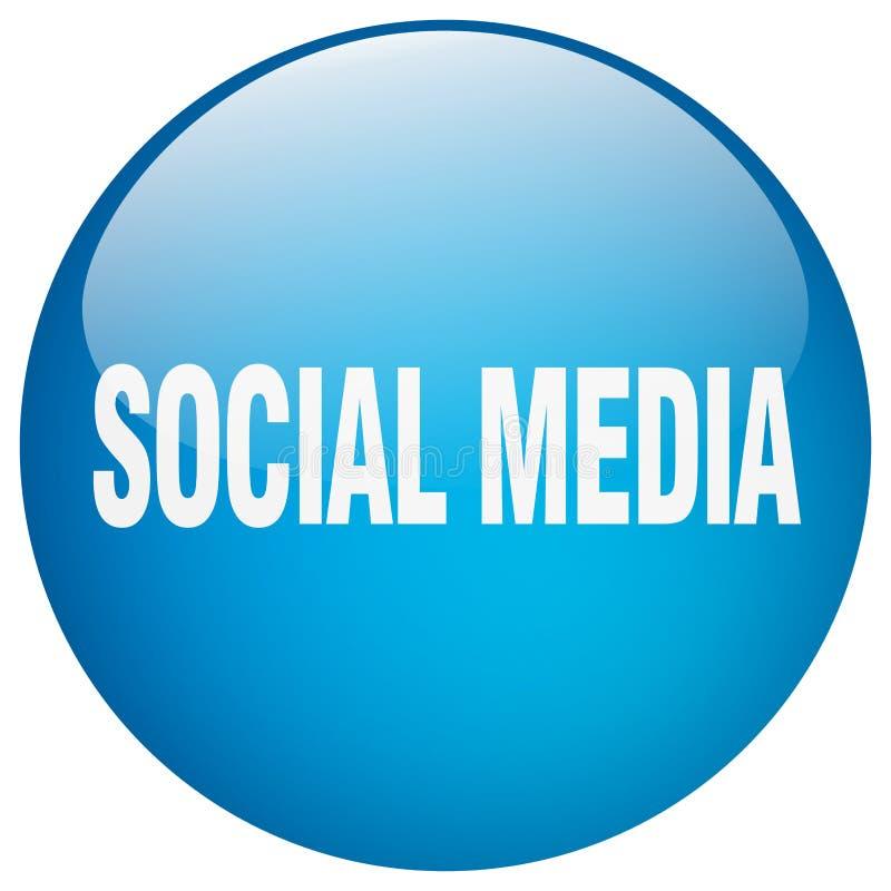 Κοινωνικό κουμπί μέσων απεικόνιση αποθεμάτων