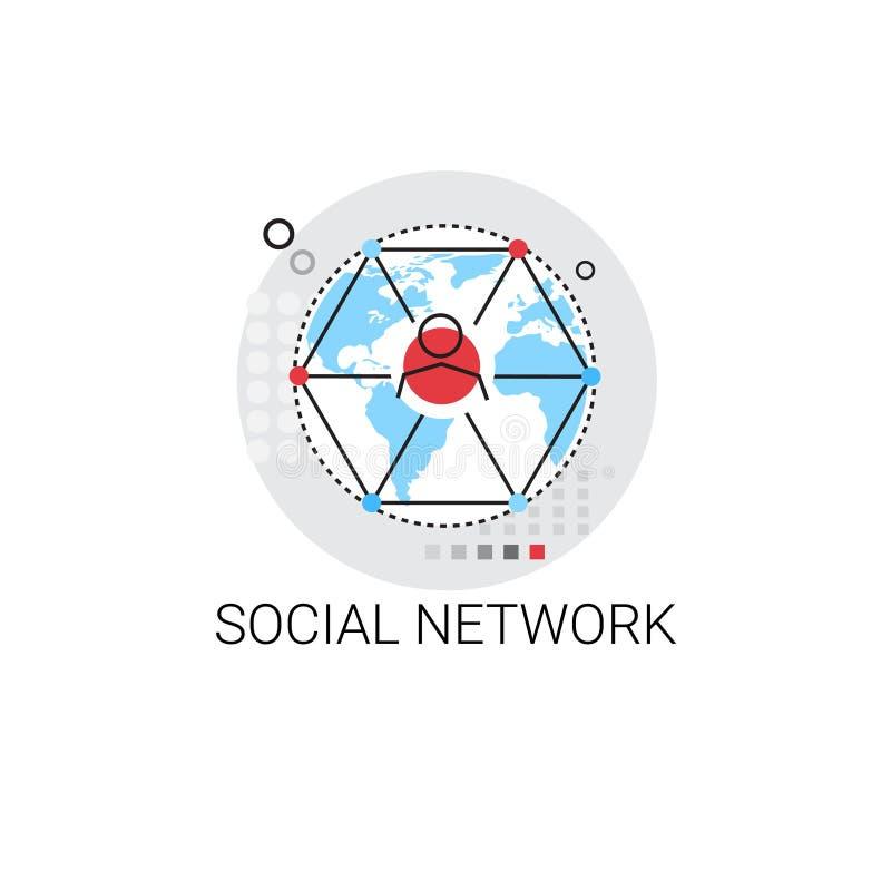 Κοινωνικό να κουβεντιάσει επικοινωνίας δικτύων εικονίδιο μηνυμάτων ελεύθερη απεικόνιση δικαιώματος