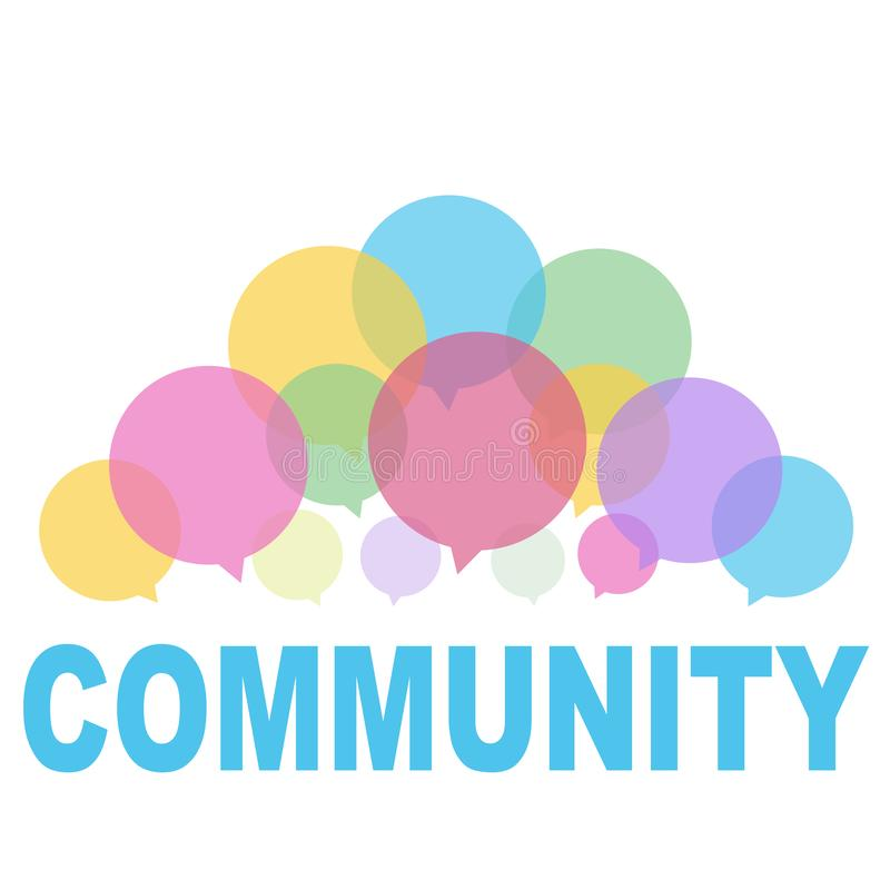 Κοινότητα ελεύθερη απεικόνιση δικαιώματος