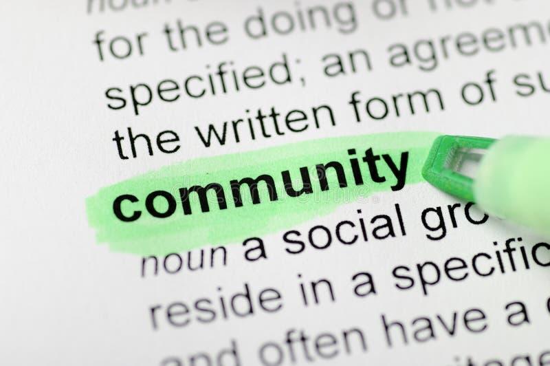 Κοινότητα στοκ εικόνα με δικαίωμα ελεύθερης χρήσης