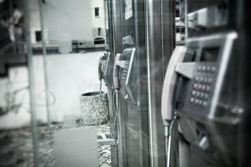 κοινό κλήσης κιβωτίων στοκ φωτογραφία με δικαίωμα ελεύθερης χρήσης