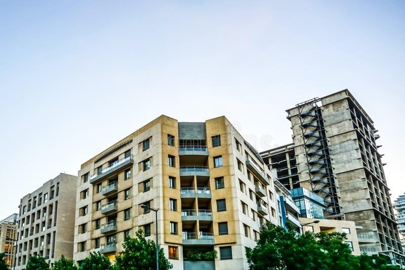 Κοινό πολυ διαμέρισμα 01 επιπέδων της Βηρυττού στοκ εικόνα