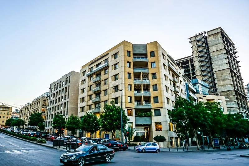 Κοινό πολυ διαμέρισμα 02 επιπέδων της Βηρυττού στοκ εικόνα με δικαίωμα ελεύθερης χρήσης