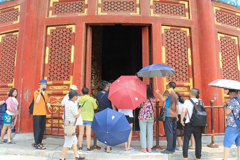 Κοιτάξτε μέσα της όλης προσευχής για την καλή συγκομιδή, ναός του ουρανού, Πεκίνο στοκ εικόνες με δικαίωμα ελεύθερης χρήσης