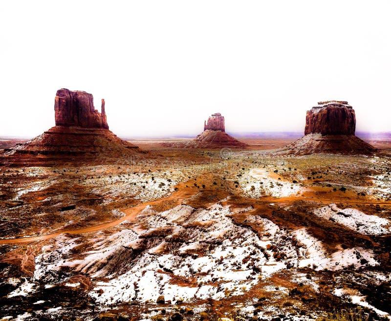 Κοιλάδα μνημείων στοκ φωτογραφίες