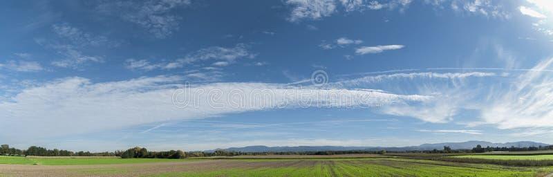 Κοιλάδα του Ρήνου στοκ φωτογραφία με δικαίωμα ελεύθερης χρήσης