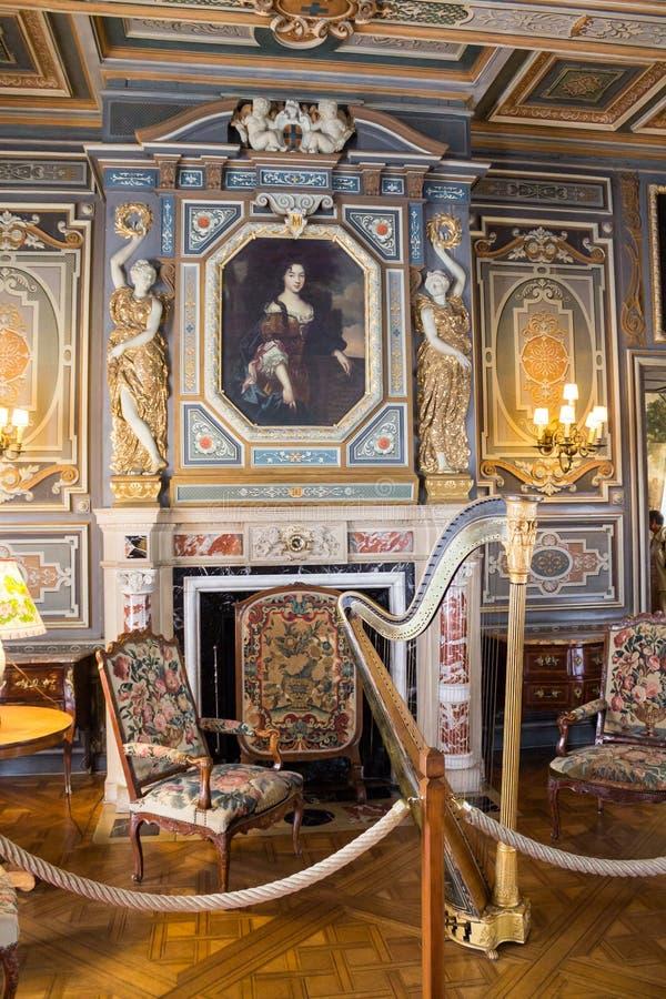 Κοιλάδα του Castle Loire Cheverny στοκ φωτογραφία
