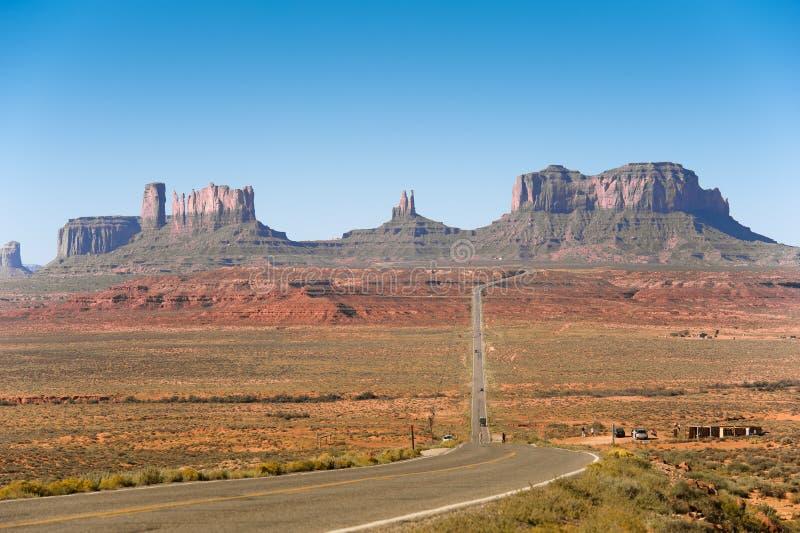 κοιλάδα του Utah μνημείων στοκ εικόνα