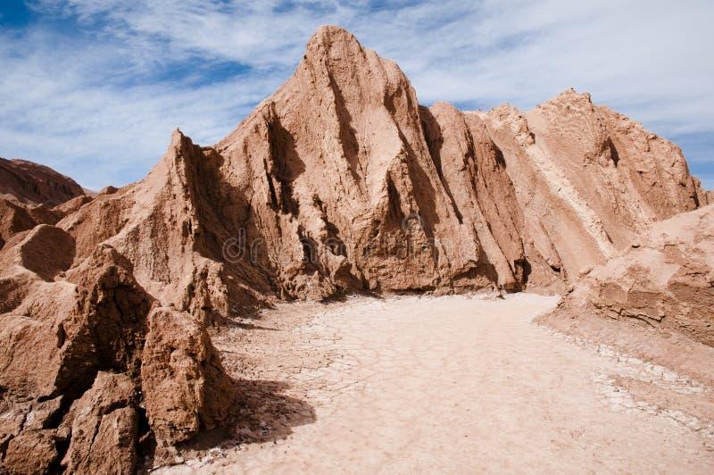 κοιλάδα φεγγαριών ερήμων & στοκ εικόνα