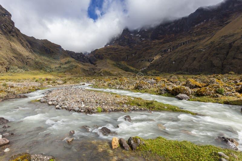 Κοιλάδα Collanes στο ηφαίστειο βωμών EL στοκ φωτογραφία με δικαίωμα ελεύθερης χρήσης