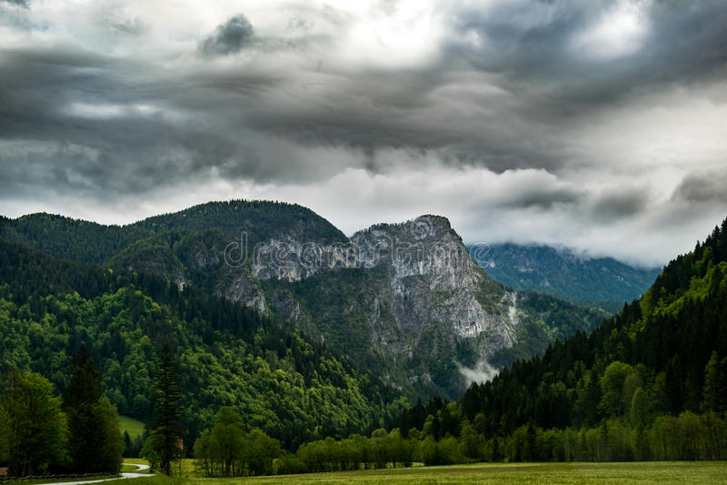 Κοιλάδα Logar στοκ εικόνα με δικαίωμα ελεύθερης χρήσης