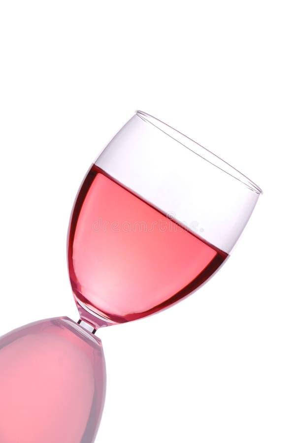 κοκκινίστε κρασί γυαλιού στοκ φωτογραφίες με δικαίωμα ελεύθερης χρήσης