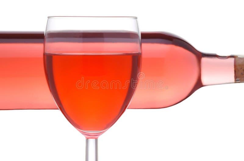 κοκκινίστε κρασί γυαλι&o στοκ εικόνα με δικαίωμα ελεύθερης χρήσης
