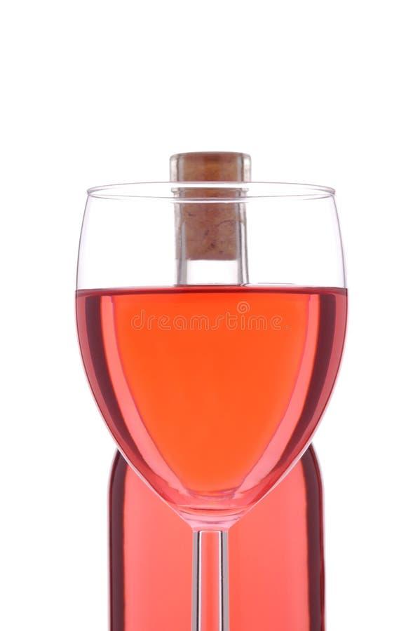κοκκινίστε μπουκάλι αυ&x στοκ φωτογραφία με δικαίωμα ελεύθερης χρήσης