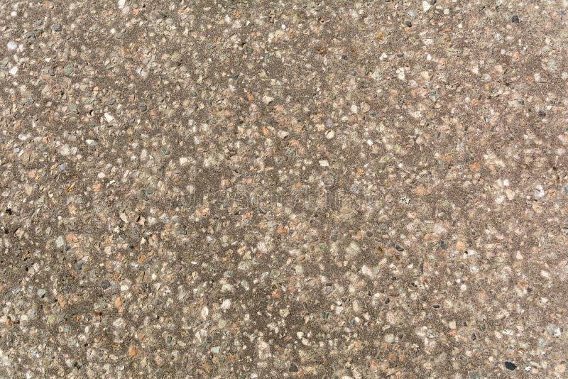 Κοκκώδης γκρίζος κατασκευασμένος λεπτομέρειας οδών στοκ εικόνα