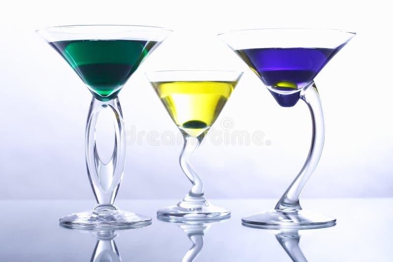Download κοκτέιλ τρία στοκ εικόνα. εικόνα από party, martini, εορτασμός - 1537269