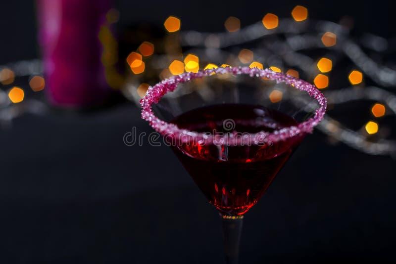 Κοκτέιλ νύχτας στοκ φωτογραφίες με δικαίωμα ελεύθερης χρήσης