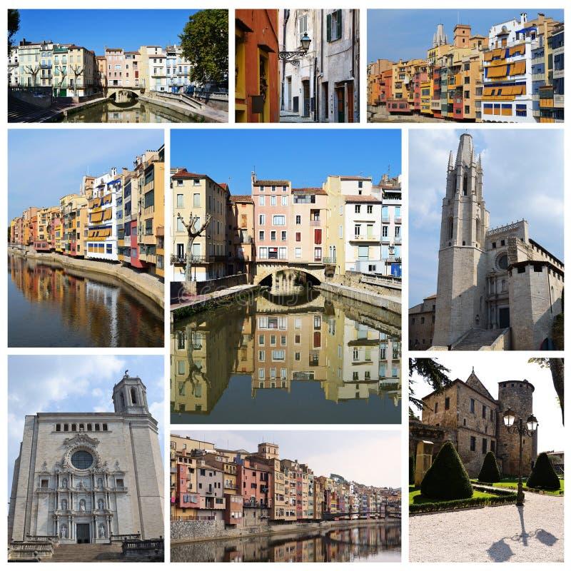 κολάζ Ευρώπη πόλεων στοκ φωτογραφίες με δικαίωμα ελεύθερης χρήσης