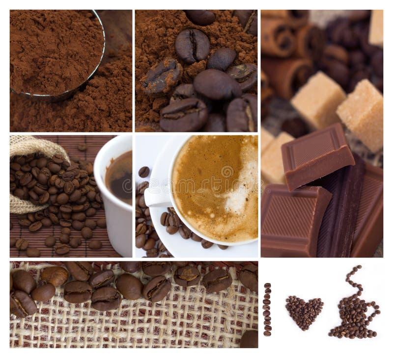 Download κολάζ καφέ στοκ εικόνες. εικόνα από διακόσμηση, κλείστε - 22788476