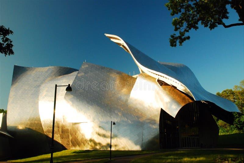 Κολλέγιο βάρδων, κέντρο τεχνών προς θέαση του Φίσερ στοκ εικόνες με δικαίωμα ελεύθερης χρήσης