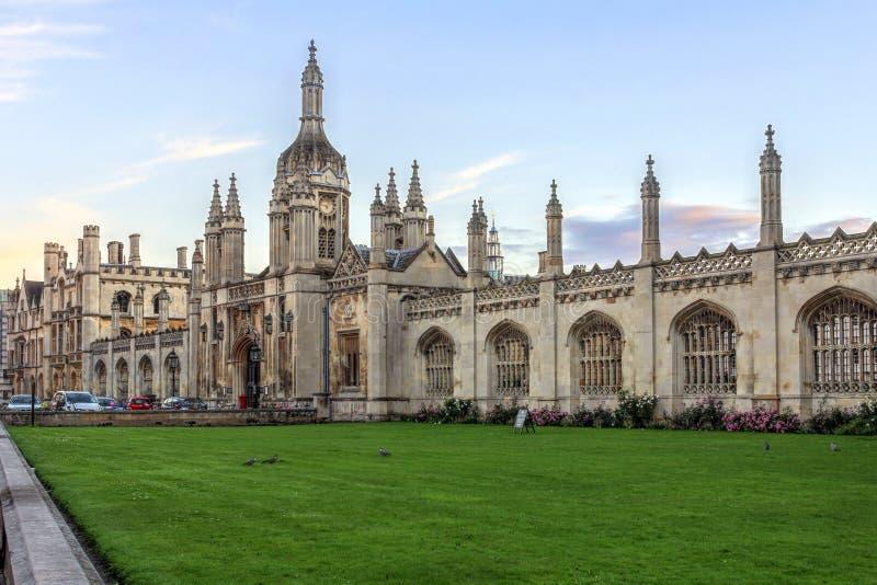Κολλέγιο βασιλιά, Καίμπριτζ, Αγγλία στοκ εικόνες