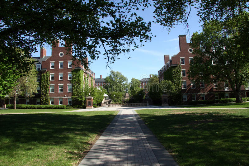 κολλέγιο dorms στοκ εικόνες