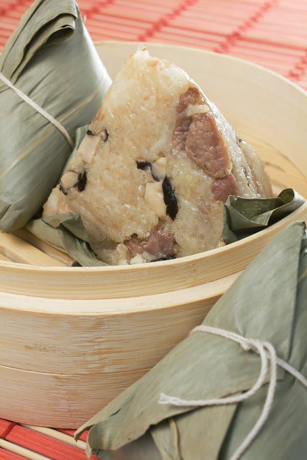 κολλώδες zongzi ρυζιού στοκ φωτογραφία με δικαίωμα ελεύθερης χρήσης