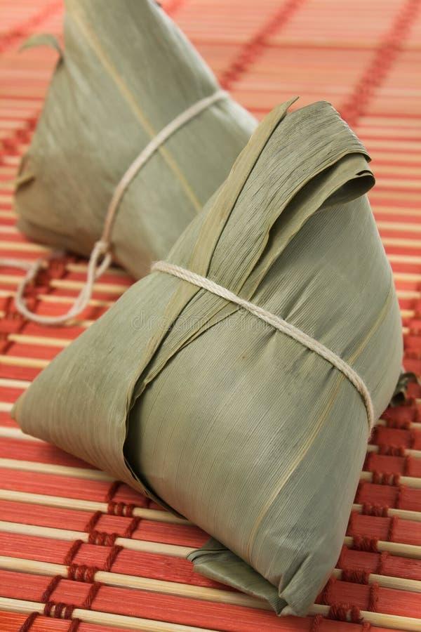 κολλώδες zongzi ρυζιού στοκ εικόνα με δικαίωμα ελεύθερης χρήσης