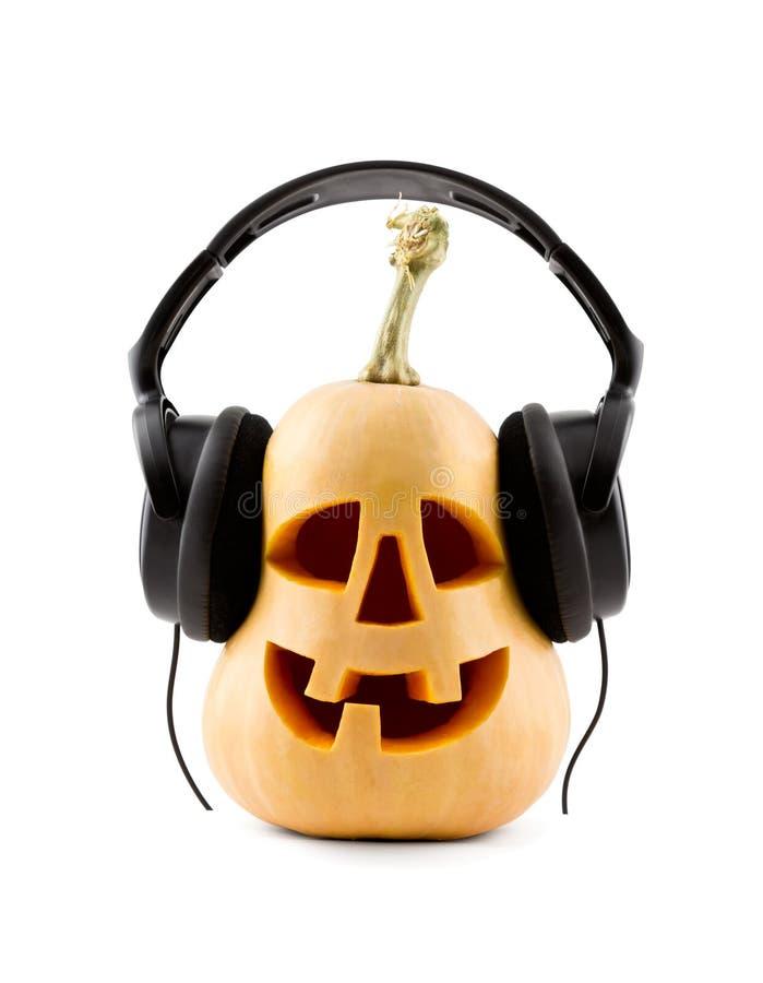 κολοκύθα ακουστικών στοκ εικόνες με δικαίωμα ελεύθερης χρήσης