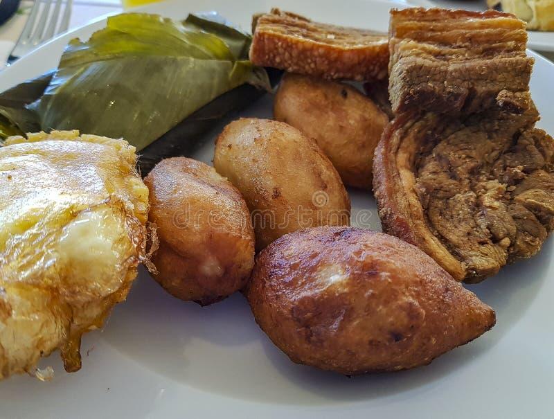 κολομβιανά τρόφιμα στοκ φωτογραφίες