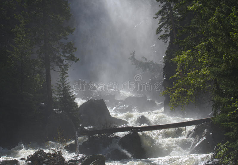 κολπίσκος misty στοκ φωτογραφία με δικαίωμα ελεύθερης χρήσης