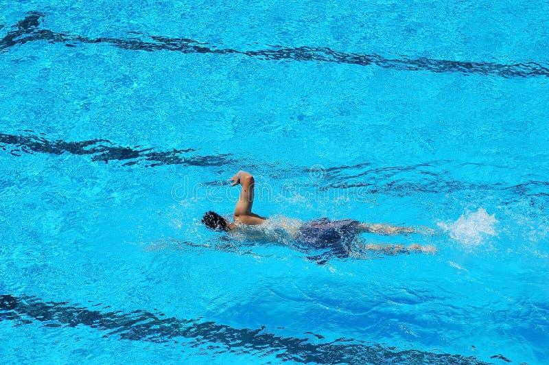 κολυμβητής λιμνών στοκ φωτογραφίες