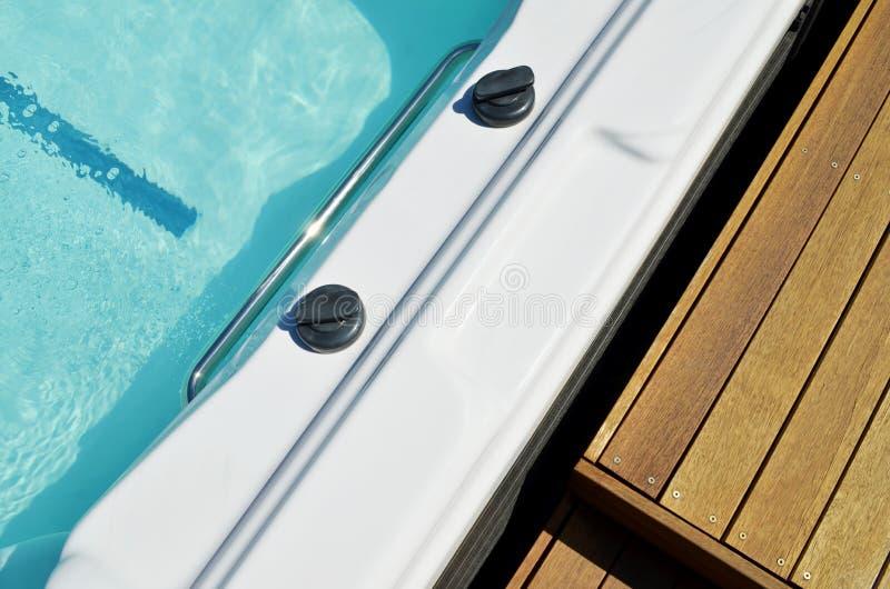 Κολυμπήστε στενό επάνω SPA στοκ εικόνες