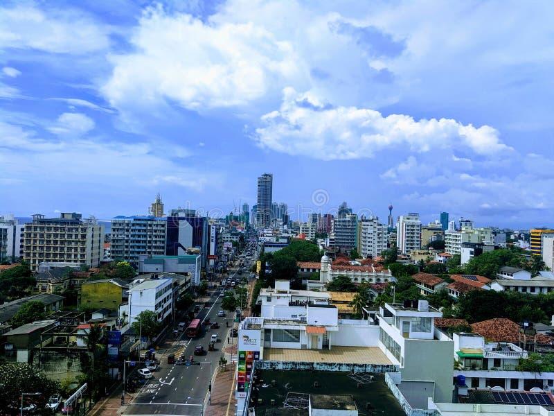 Κολόμπο Σρι Λάνκα στοκ φωτογραφία με δικαίωμα ελεύθερης χρήσης