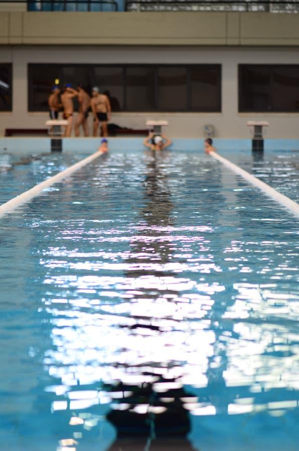 κολύμβηση λιμνών στοκ φωτογραφία με δικαίωμα ελεύθερης χρήσης