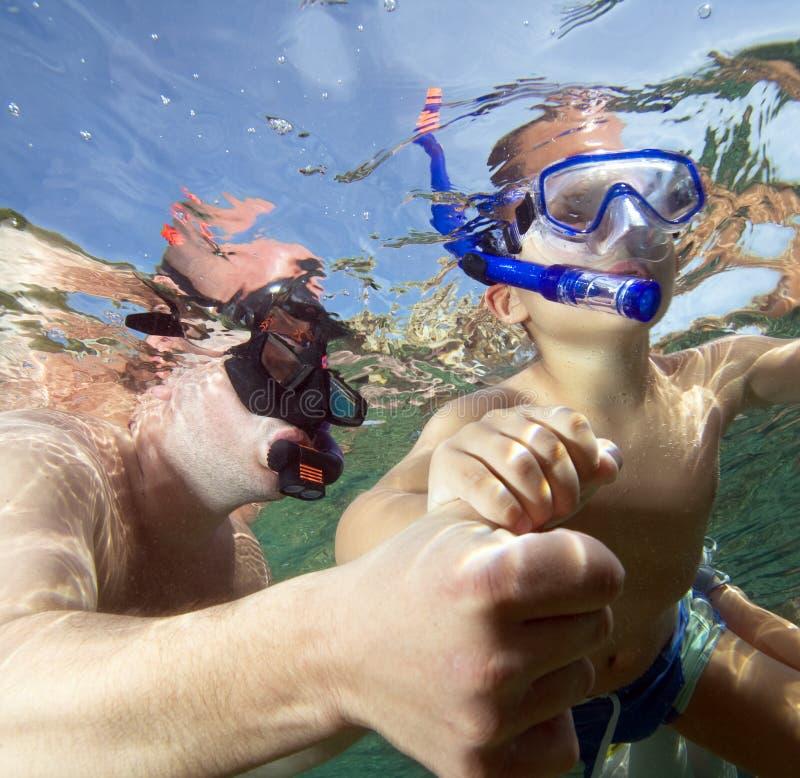 Κολύμβηση με αναπνευστήρα στοκ φωτογραφίες με δικαίωμα ελεύθερης χρήσης
