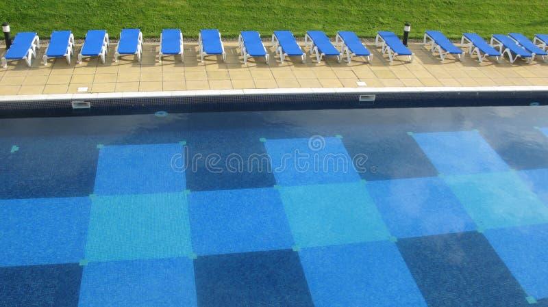κολύμβηση σειρών λιμνών γε στοκ φωτογραφίες