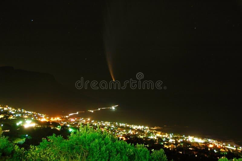 κομήτης mcnaught στοκ φωτογραφία με δικαίωμα ελεύθερης χρήσης