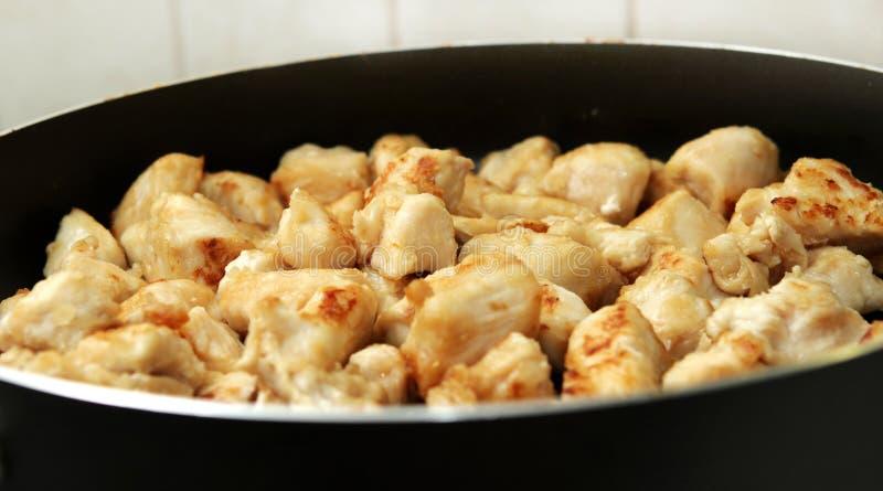 κομμάτια κοτόπουλου στοκ φωτογραφία με δικαίωμα ελεύθερης χρήσης