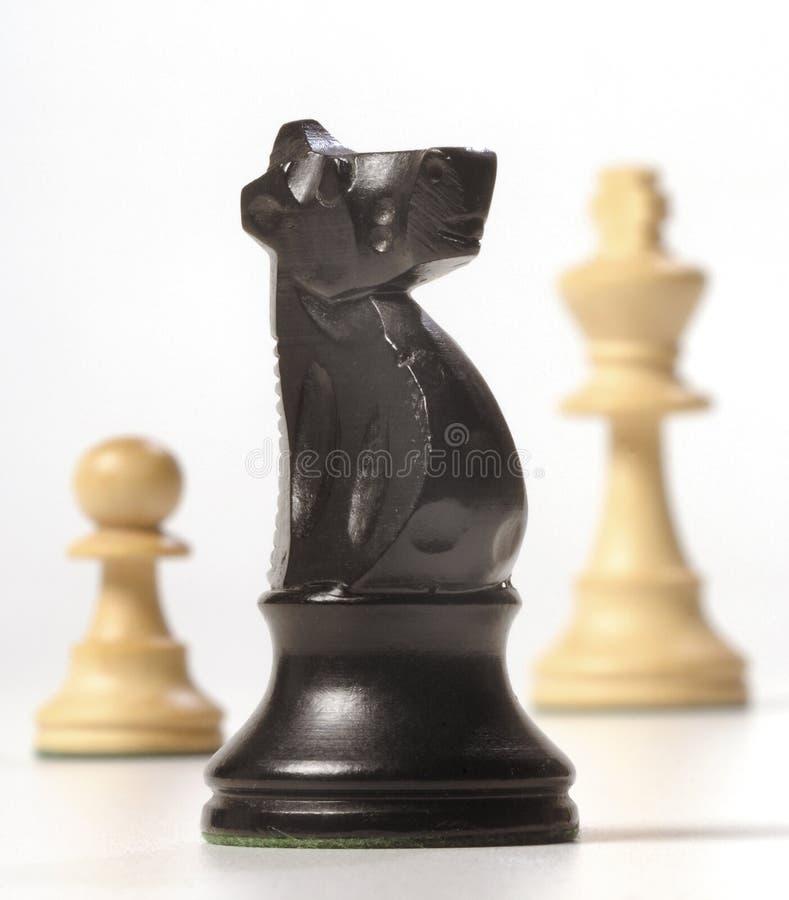 Download κομμάτια σκακιού στοκ εικόνες. εικόνα από βασιλιάς, ενέχυρο - 1548498