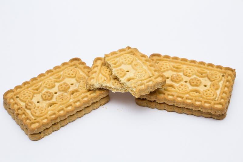 Κομμάτια του μπισκότου στοκ εικόνες με δικαίωμα ελεύθερης χρήσης