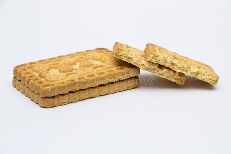 Κομμάτια του μπισκότου στοκ εικόνα